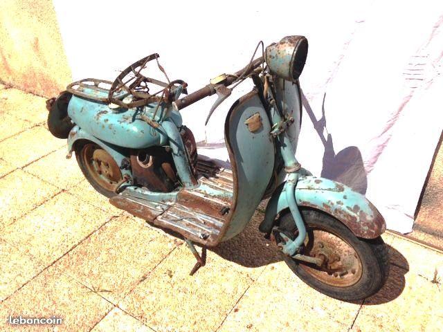 Motobécane Mobyscooter  SBH de 1956 Ccad7210