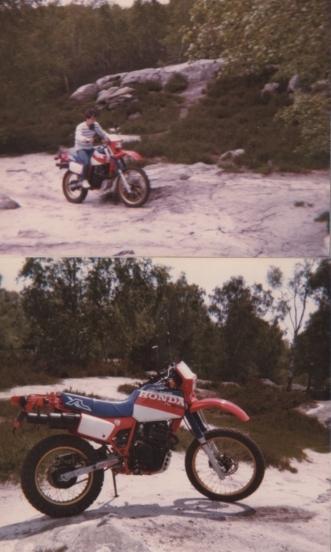 500XLR de 1982 remise en route. Xlr60010