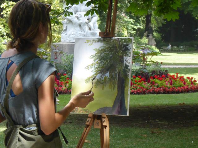 Choses vues dans le jardin du Luxembourg, à Paris - Page 6 1-pein10