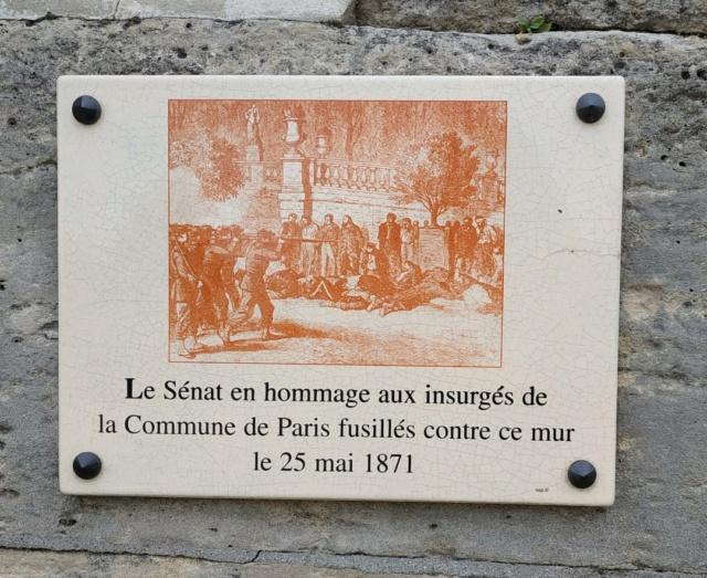 Choses vues dans le jardin du Luxembourg, à Paris - Page 9 Comm310