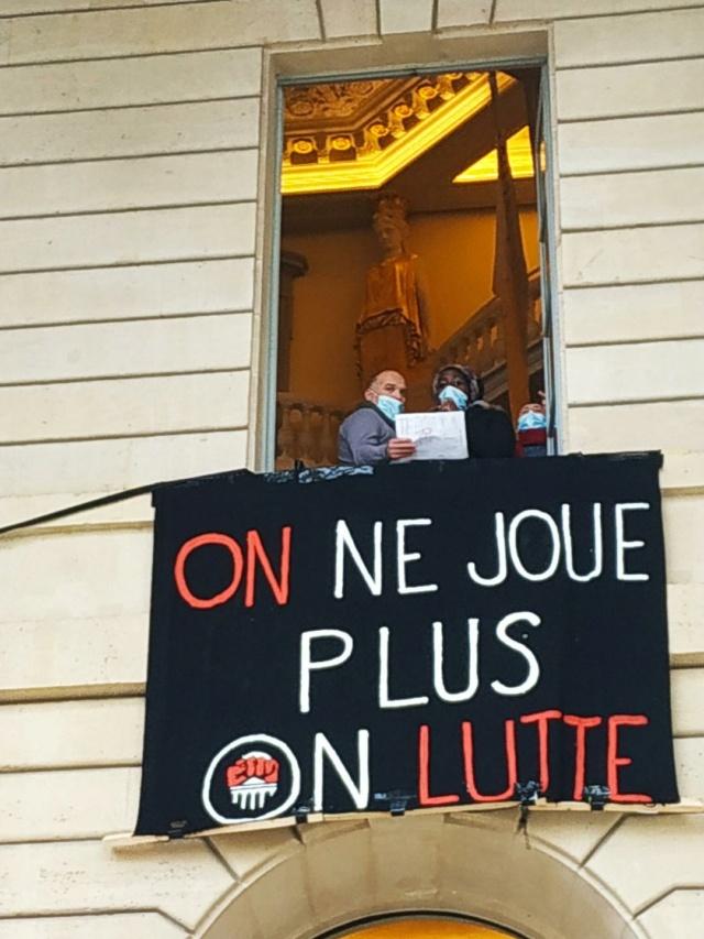 Théâtre de L'Odéon, toujours occupé ! Odeon610