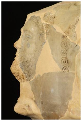 Bronze Ambiens au personnage de face et aux torques DT.404 I_421811