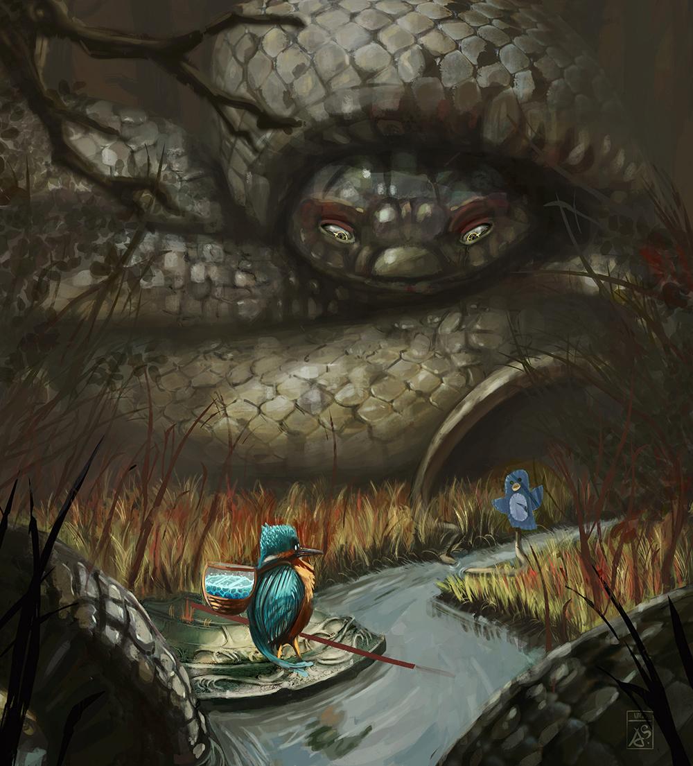 Wip et croquis d'Adilas Illust15