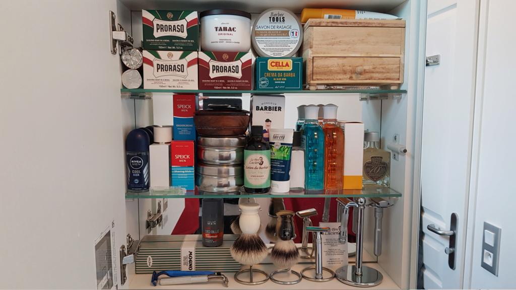 Photos de votre armoire spéciale rasage (ou de la partie réservée au rasage) - Page 30 20200310