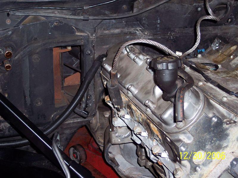 Installer un moteur LS1 dans une Corvette C4 100_2415