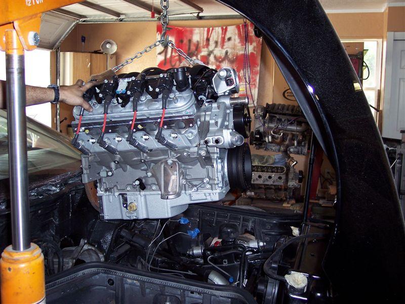 Installer un moteur LS1 dans une Corvette C4 100_2910