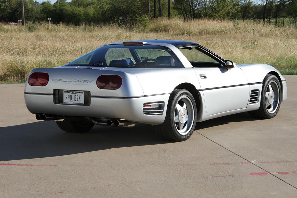 Combien de Corvette C4 Callaway en France ?? 1988-c11
