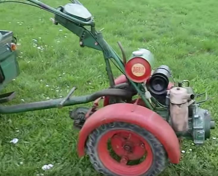 agria - attelage remorque pour agria 1600/2600 A_160010