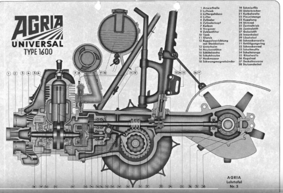 agria - attelage remorque pour agria 1600/2600 Agria_16