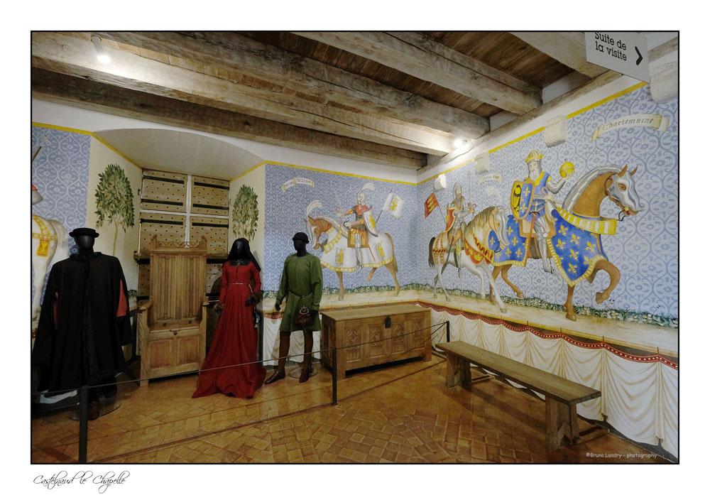 Le village de Castelnaud la chapelle et son château Dscf6326