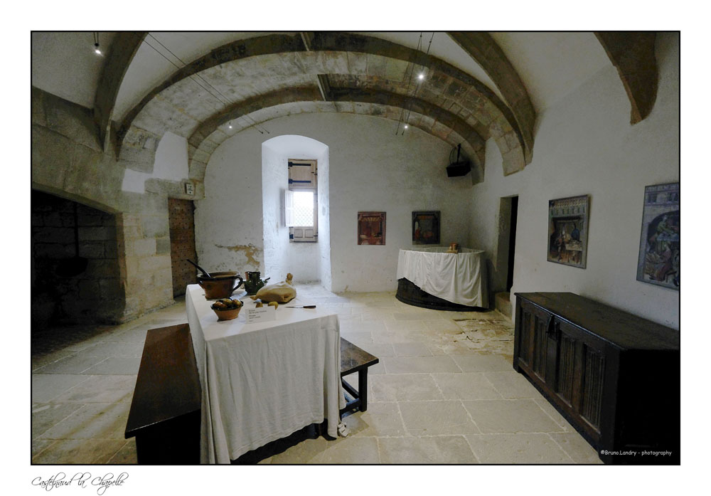 Le village de Castelnaud la chapelle et son château Dscf6337