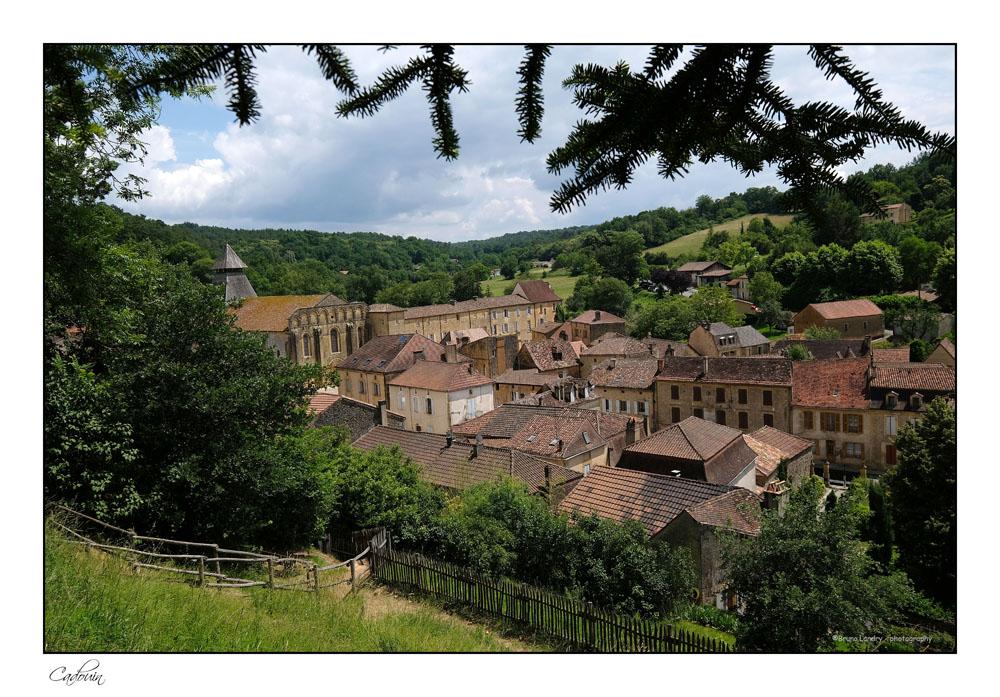 Le village de Cadouin et son abbaye Dscf6612