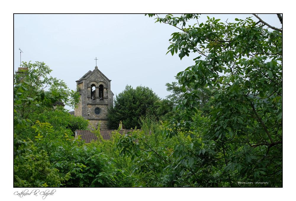 Le village de Castelnaud la chapelle et son château Dscf7326