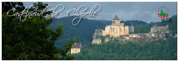 Le village de Castelnaud la chapelle et son château Sans_t13