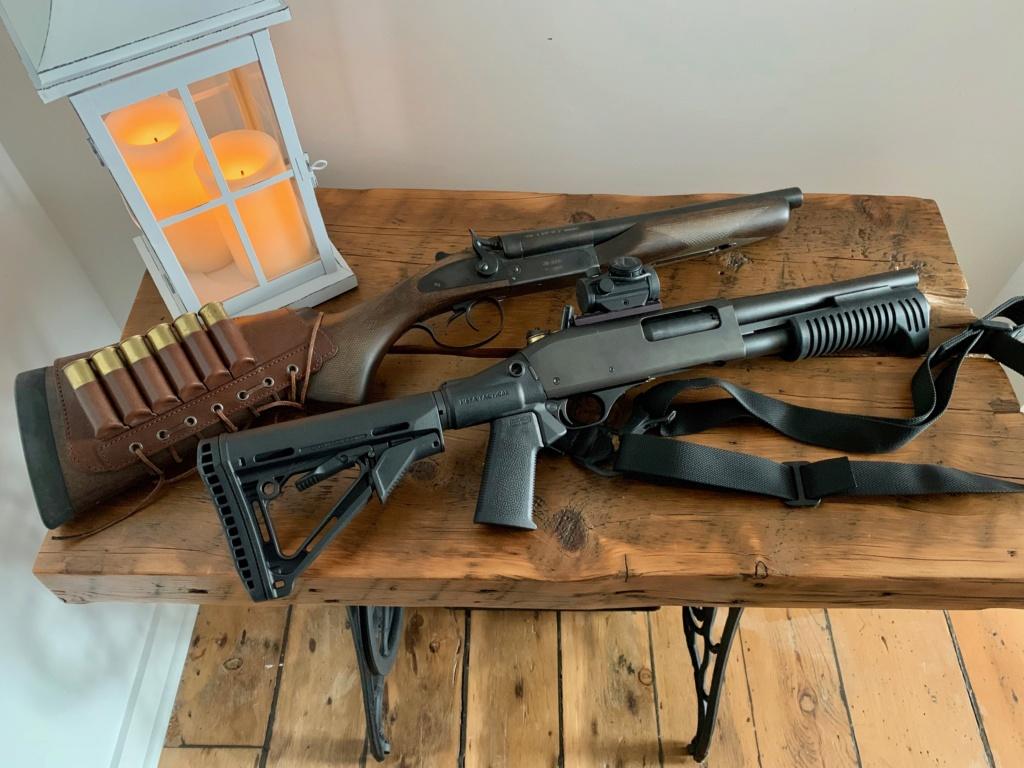 Remington à pompe custom de type S.B.S. (Short, Barrel, Shotgun) Img_1010