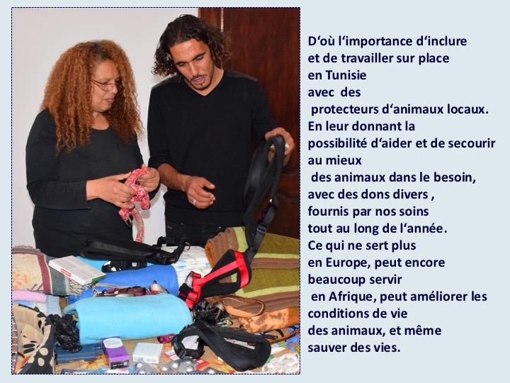 Activité des bénévoles du Luxembourg en Tunisie - année 2018 Diapos14