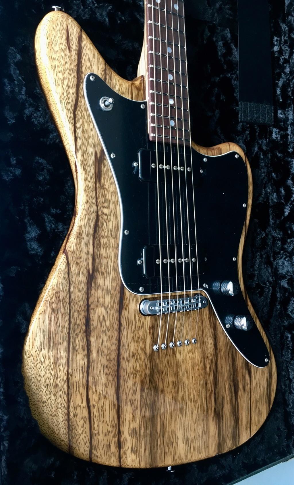 Suhr Custom JM - Black Limba 0d66db10
