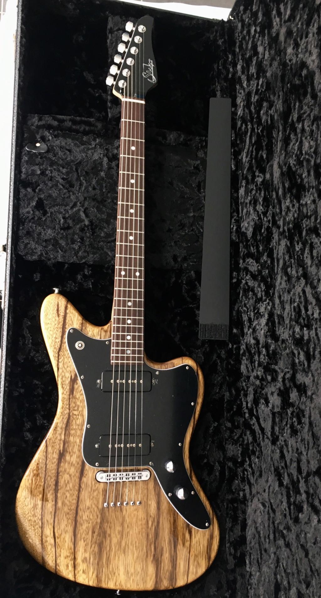 Suhr Custom JM - Black Limba B39b7910