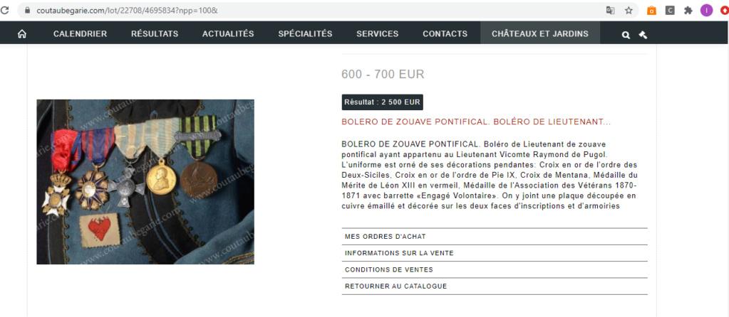 Médaille a un soldat Flamand; zouave pontifical. Captur55