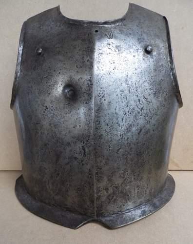 Casque d'infanterie XVII ème siècle Cuiras12