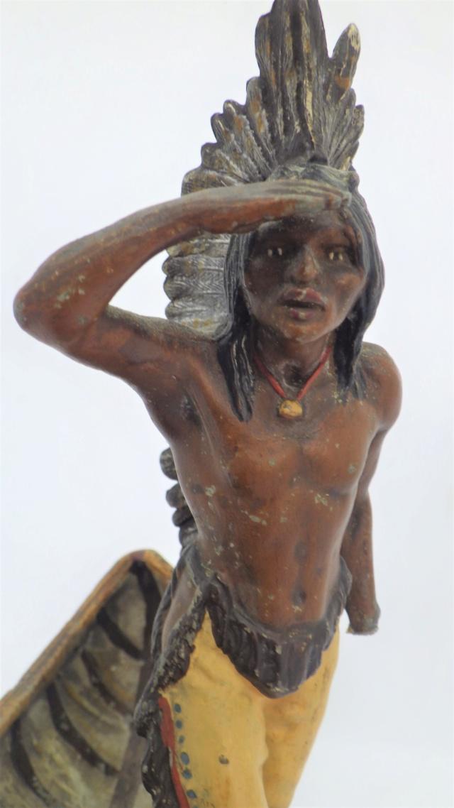 Indien en métal peint,.... bronze de Vienne?? Rimg2225