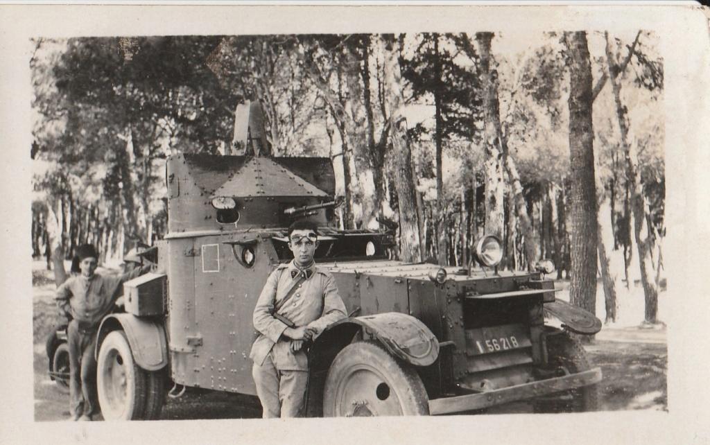 Identification d'automitrailleuses françaises - Années 30 ? Rif ? 212