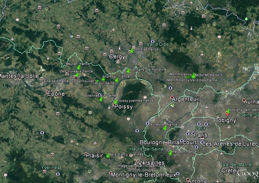:  Bobigny le /1973 ou1974 à 09h30 - Un phénomène insolite - Bobigny -Seine-Saint-Denis (dép.93) A1154010