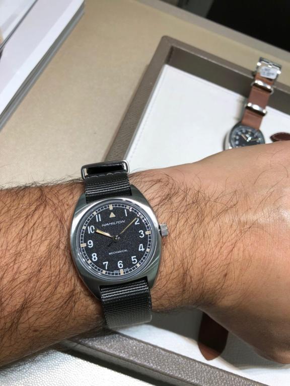 [Nouveauté] Hamilton réédite à nouveau une montre militaire - Page 2 Img_7445