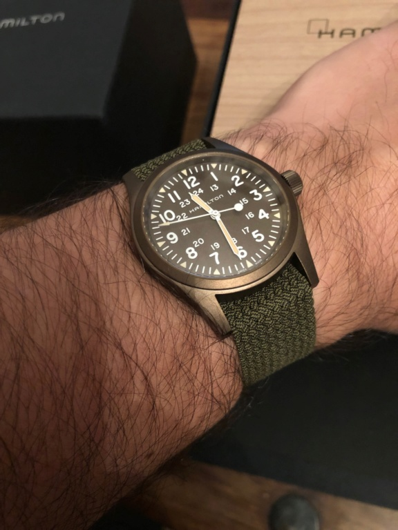[Nouveauté] Hamilton réédite à nouveau une montre militaire - Page 2 Img_7611