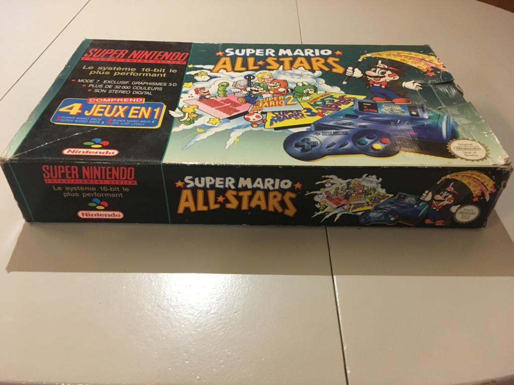 (VENDU) Pack SNES Mario All Stars Img_1564