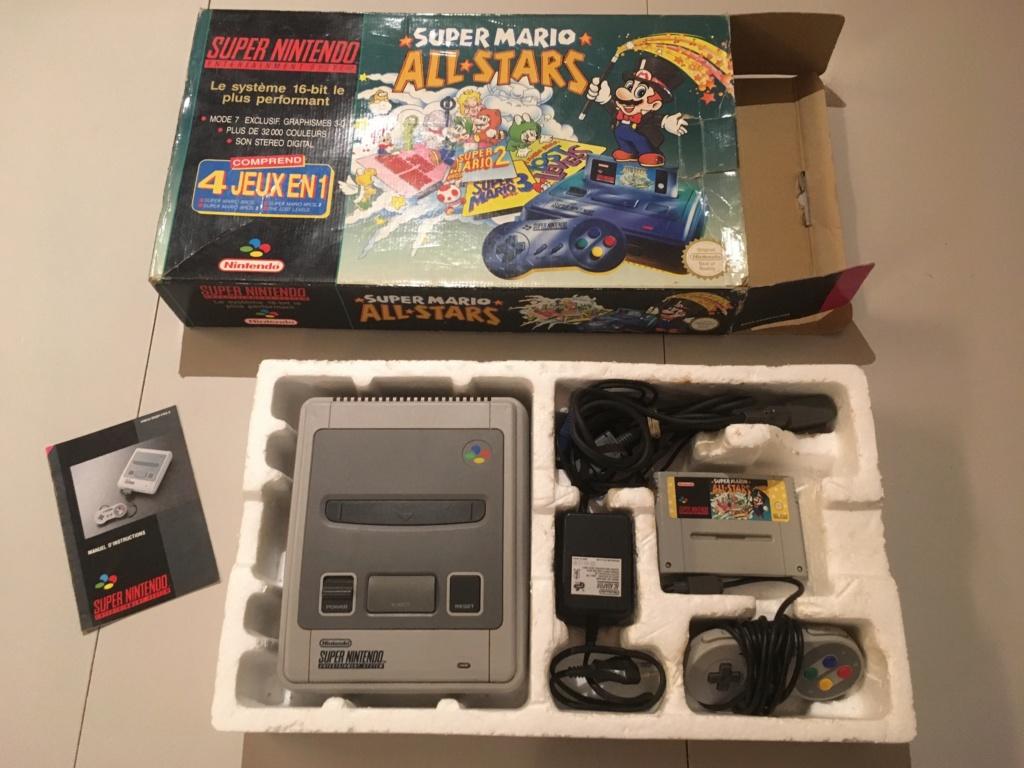 (VENDU) Pack SNES Mario All Stars Img_1570