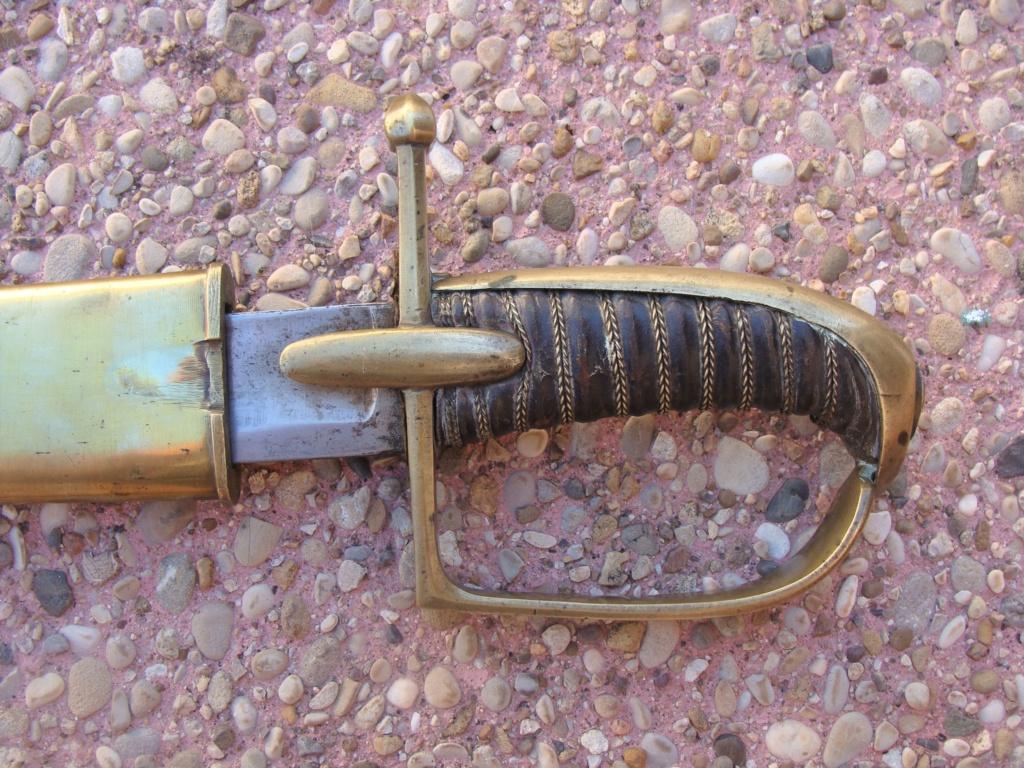 Sabre de hussard an IV troupe Dsc09121