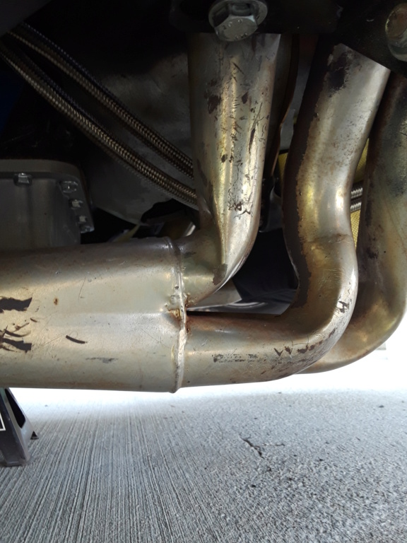 header damage how much power loss if any ? kinked . *please take a look * Fairmo11