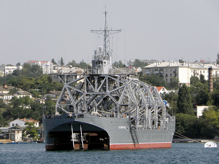 Russian Naval Search & Rescue (S&R) equipment and tech Komunn10