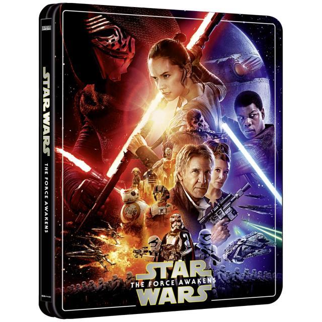 Star Wars: Episode VII - The Force Awakens (4K+2D Blu-ray SteelBook) Zavvi Exclu 12645210