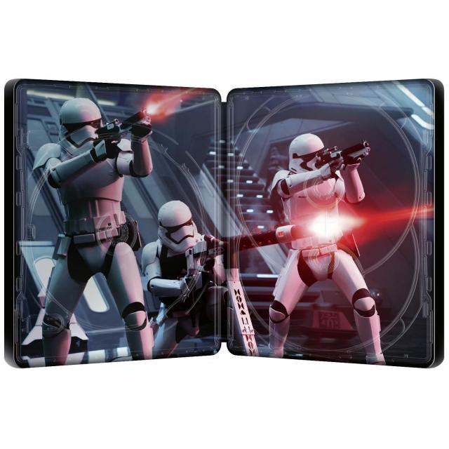 Star Wars: Episode VII - The Force Awakens (4K+2D Blu-ray SteelBook) Zavvi Exclu 12645211