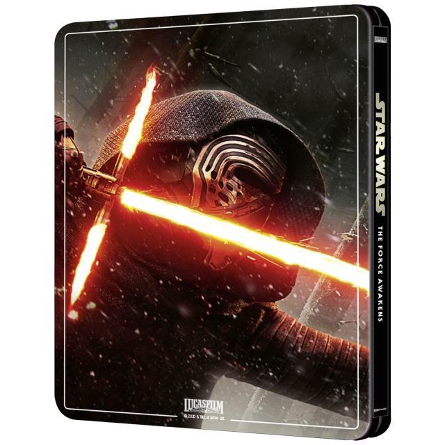 Star Wars: Episode VII - The Force Awakens (4K+2D Blu-ray SteelBook) Zavvi Exclu 12645212