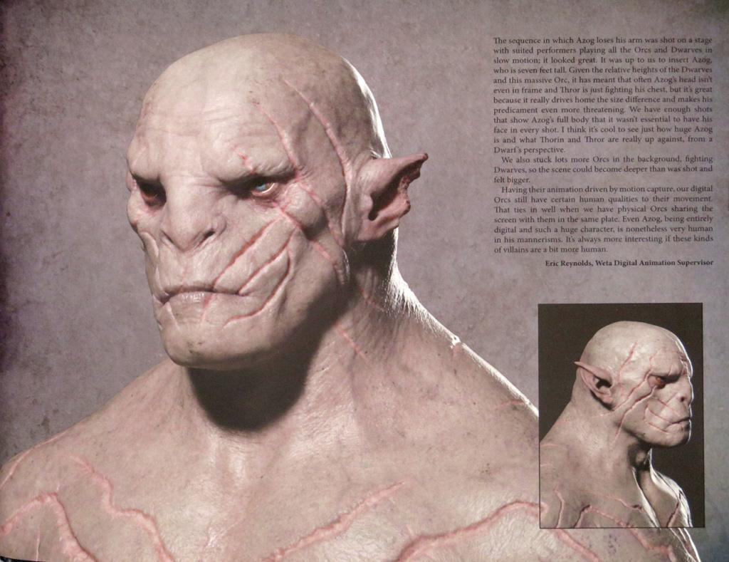 Buste Azog Le Profanateur 1.1 The Hobbit 99589610