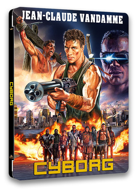 Cyborg : Edition Collector Boîtier VHS  Cyborg10
