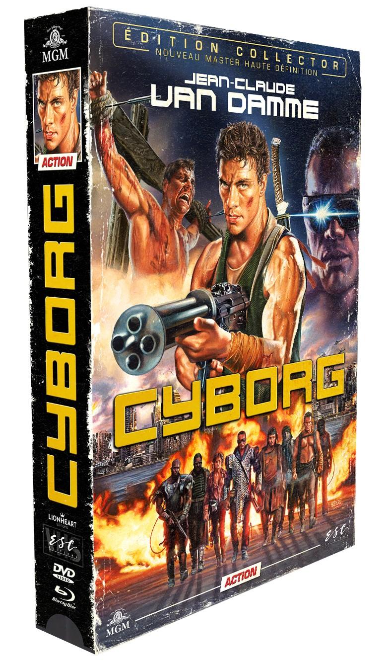 Cyborg : Edition Collector Boîtier VHS  Cyborg12