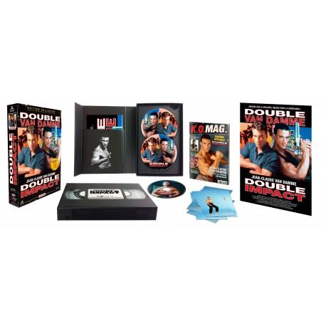 Double impact : Edition Collector Boîtier VHS  Double10
