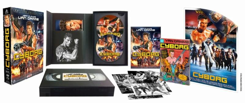 Cyborg : Edition Collector Boîtier VHS  Efoiyw10