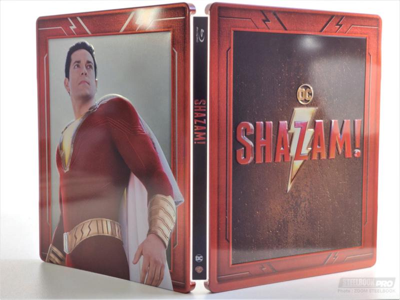 Shazam : Nouveau steelbook Shazam11