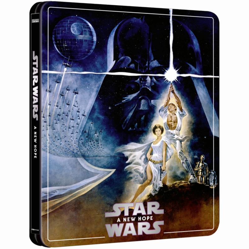 Star Wars: Episode IV - A New Hope (4K+2D Blu-ray SteelBook) Zavvi E Star-w11
