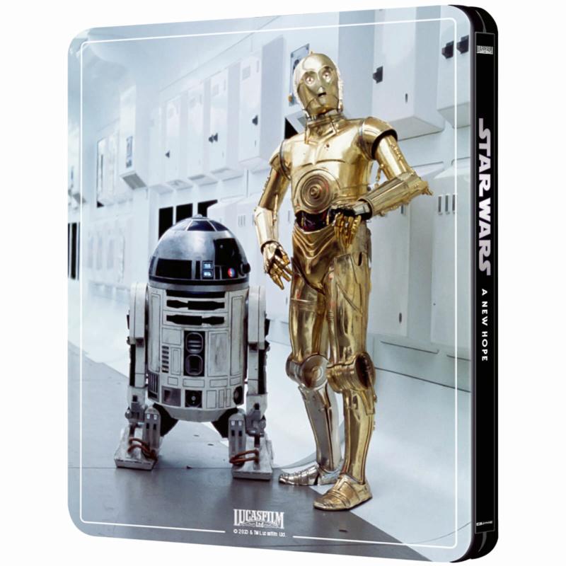 Star Wars: Episode IV - A New Hope (4K+2D Blu-ray SteelBook) Zavvi E Star-w12