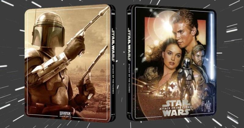 Star Wars: Episode II - Attack of the Clones (4K+2D Blu-ray SteelBook) Zavvi Exc Star-w13