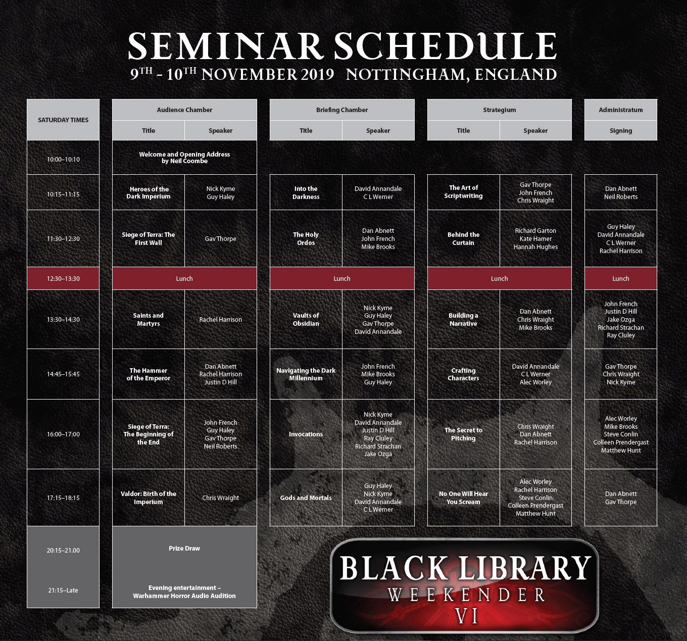 Programme des publications The Black Library 2019 - UK - Page 5 112