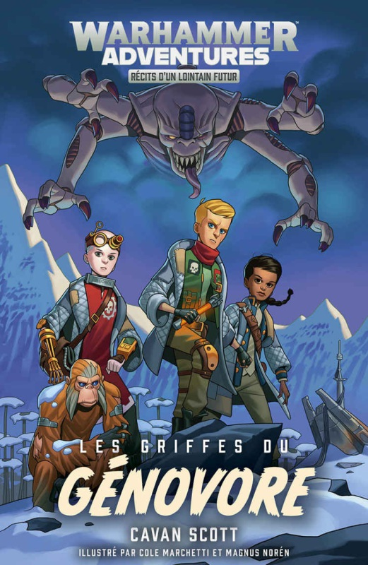 Warhammer Adventures - Les Galaxies Distordues de Cavan Scott - Romans Jeunesses  29ebf310