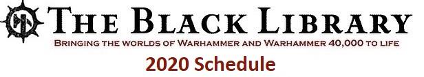 Programme des publications The Black Library 2020 - UK 30475312
