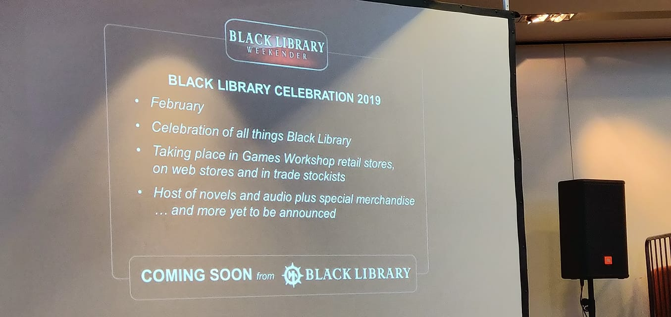 [The Black Library Weekender 2018] - Centralisation des news 45318410